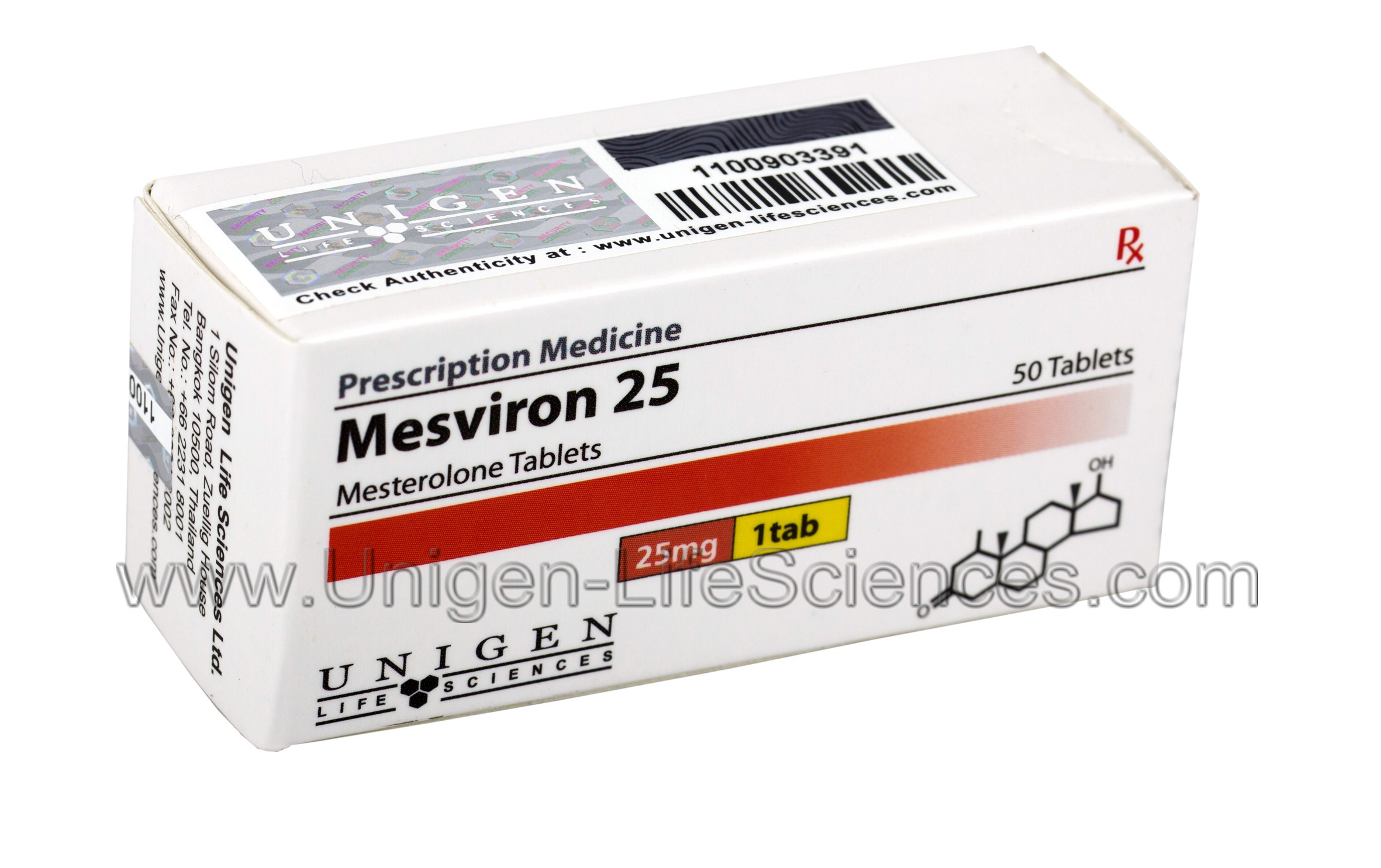 mesterolone tablets uses